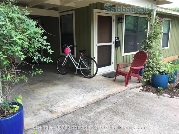 Private Hyde Park cottage near UT; all util/wifi/bike incl.; Washer/dryer Home Rental in Austin, Texas, United States 7