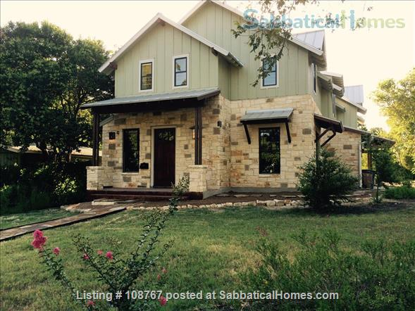 UT/Hyde Park lovely 3 bedroom, 2.5 bath; utilities, high speed WiFi paid Home Rental in Austin, Texas, United States 1