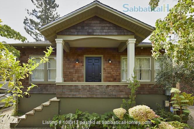 Charming Rockridge Craftsman Home Rental in Oakland 1