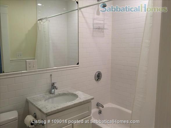 Spacious 2 BR 2BA w/deck on quiet street, steps to Harvard, shops & restaurants. Short or long term.     Home Rental in Cambridge, Massachusetts, United States 3