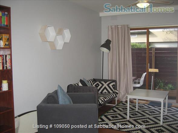 2-bedroom apartment with courtyard near beach and central Melbourne, Australia Home Rental in Elwood 0 - thumbnail