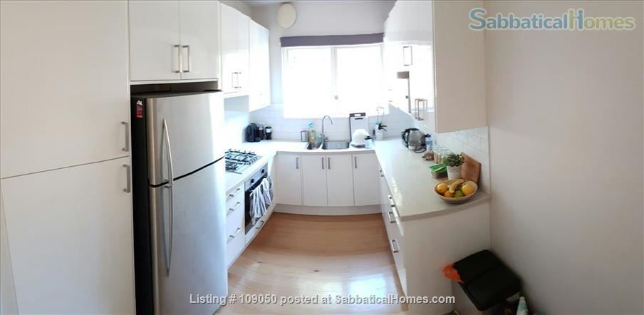 2-bedroom apartment with courtyard near beach and central Melbourne, Australia Home Rental in Elwood, VIC, Australia 4