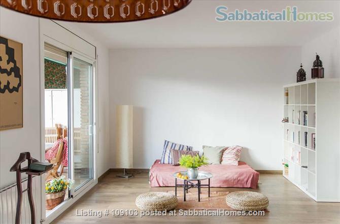 Generous 2-bedroom flat in Sant Antoni very close to Plaça Universitat Home Rental in Barcelona, Catalunya, Spain 1