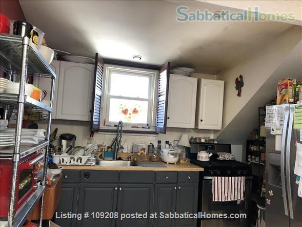 Sunny, furnished 2 Bed/1 bath  Condo with private deck, parking,  10 min. walk to Harvard/MIT  for July 1 to August 31, 2021 Home Rental in Cambridge, Massachusetts, United States 0