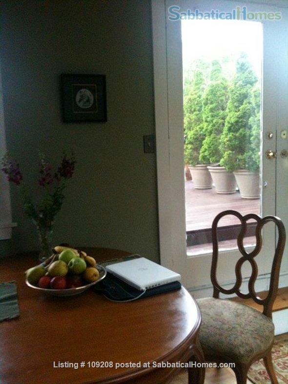 Sunny, furnished 2 Bed/1 bath  Condo with private deck, parking,  10 min. walk to Harvard/MIT  for July 1 to August 31, 2021 Home Rental in Cambridge, Massachusetts, United States 2