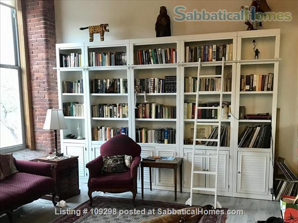 Loft Apartment in Old Mill Home Rental in Newmarket, New Hampshire, United States 4