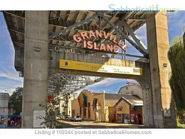 Lovely condo adjacent to False Creek and Granville Island Home Rental in Vancouver, British Columbia, Canada 9