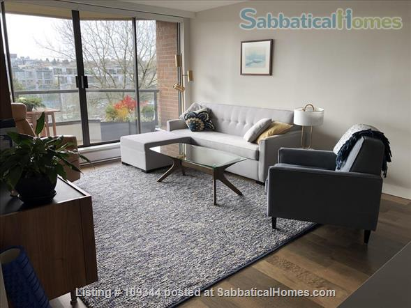 Lovely condo adjacent to False Creek and Granville Island Home Rental in Vancouver, British Columbia, Canada 3