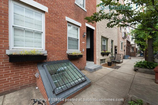 Fantastic Location, Modern Home in Center City, Child-Friendly, 2 Bedroom with Extra Sofa-Bed in Finished Basement Home Rental in Philadelphia 1