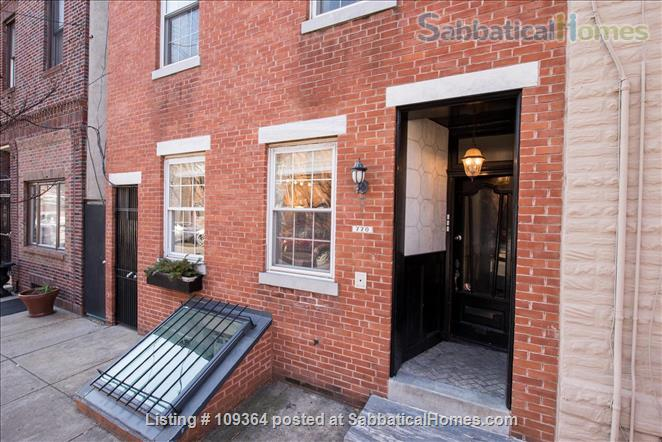 Fantastic Location, Modern Home in Center City, Child-Friendly, 2 Bedroom with Extra Sofa-Bed in Finished Basement Home Rental in Philadelphia, Pennsylvania, United States 0