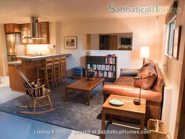 SERENE, FULLY-FURNISHED, 1 BR/1 BA APT ATOP CLAREMONT CANYON. Home Rental in Berkeley, California, United States 0