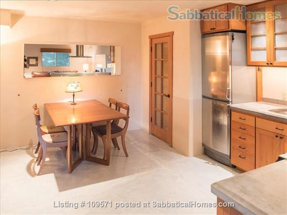 SERENE, FULLY-FURNISHED, 1 BR/1 BA APT ATOP CLAREMONT CANYON. Home Rental in Berkeley, California, United States 4