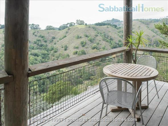 SERENE, FULLY-FURNISHED, 1 BR/1 BA APT ATOP CLAREMONT CANYON. Home Rental in Berkeley, California, United States 8