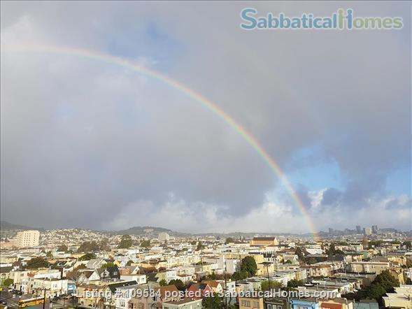 Bernal  heights one-bedroom with spectacular views. Home Rental in San Francisco, California, United States 9