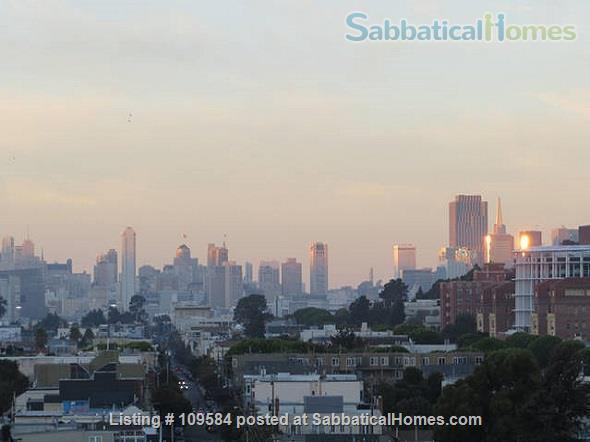 Bernal  heights one-bedroom with spectacular views. Home Rental in San Francisco, California, United States 2