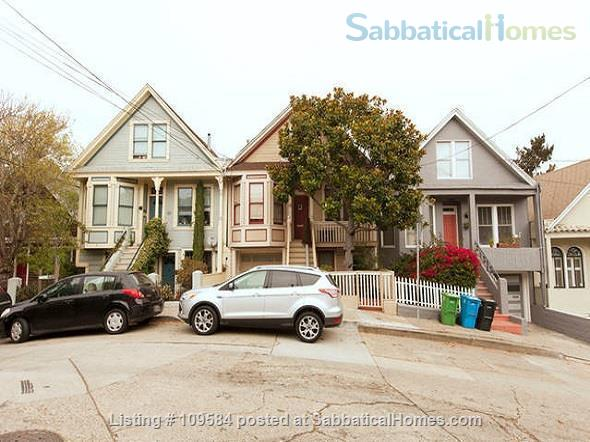 Bernal  heights one-bedroom with spectacular views. Home Rental in San Francisco, California, United States 0