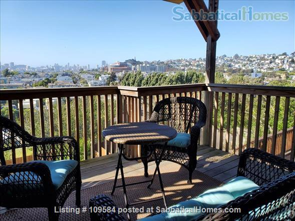 Bernal  heights one-bedroom with spectacular views. Home Rental in San Francisco, California, United States 7