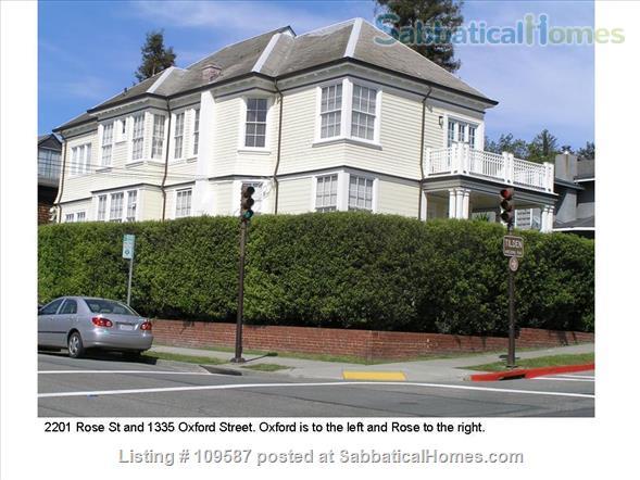 1335 Oxford Home Rental in Berkeley, California, United States 0