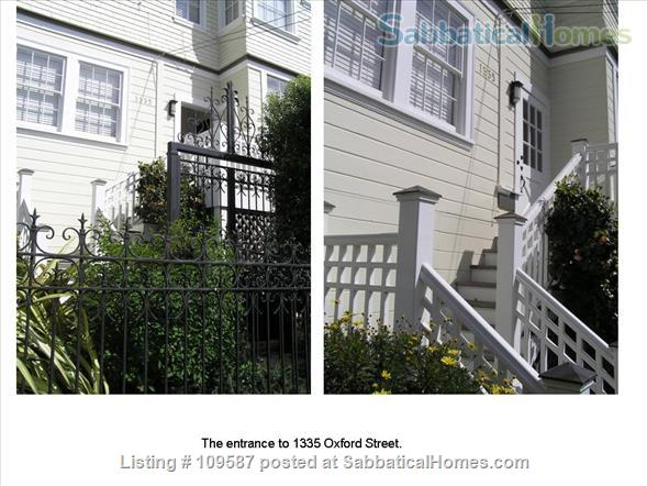 1335 Oxford Home Rental in Berkeley, California, United States 1