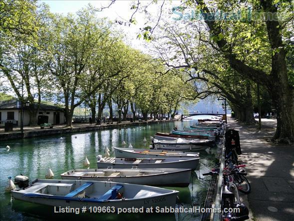 The cosy ground apartment in villa, Annecy, Venice of the Alps Home Rental in Annecy, Auvergne-Rhône-Alpes, France 8