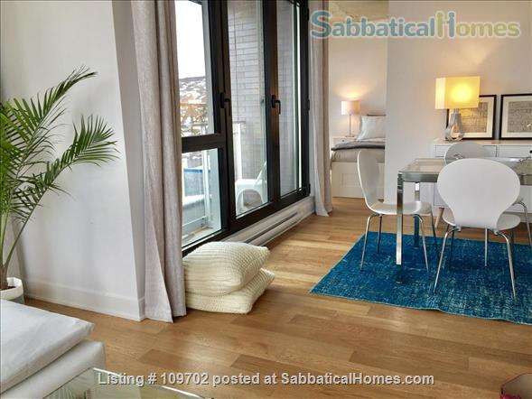 Medical trainees contact for price. Downtown Montreal! Executive furnished condo-Pool gym heated car and bike parking Steps to Atwater Metro Home Rental in Montreal, Quebec, Canada 2