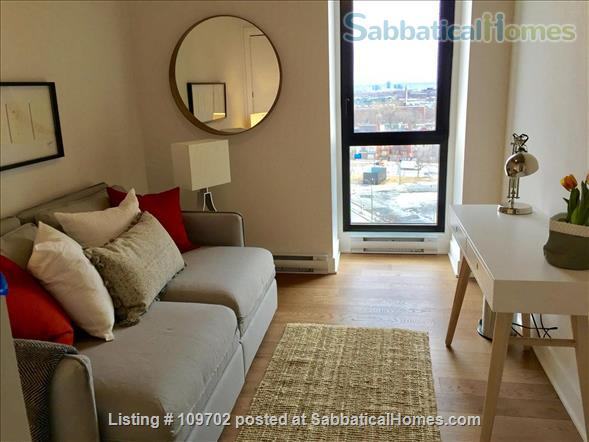 Medical trainees contact for price. Downtown Montreal! Executive furnished condo-Pool gym heated car and bike parking Steps to Atwater Metro Home Rental in Montreal, Quebec, Canada 6
