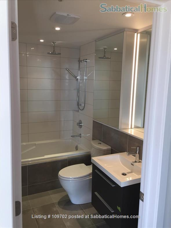 Medical trainees contact for price. Downtown Montreal! Executive furnished condo-Pool gym heated car and bike parking Steps to Atwater Metro Home Rental in Montreal, Quebec, Canada 7