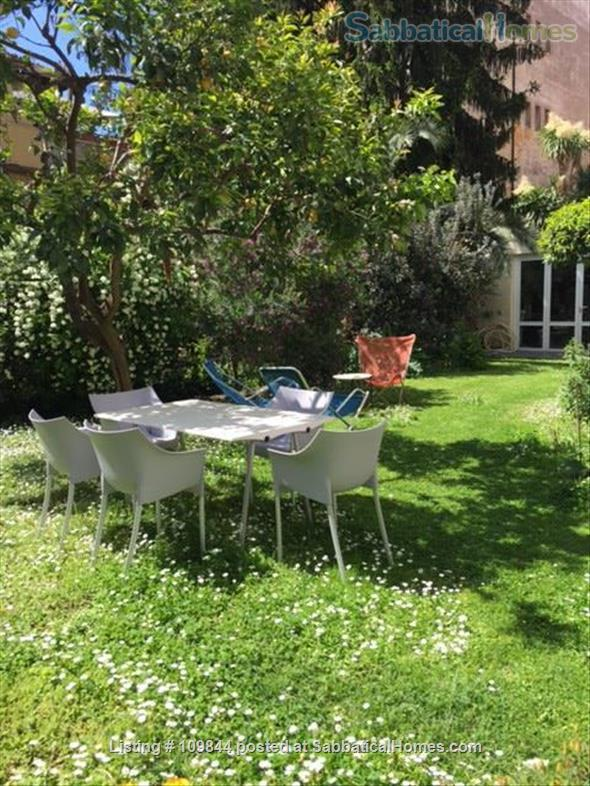 Openspace flat in central area with luxuriant mediterranean garden Home Rental in Rome 6
