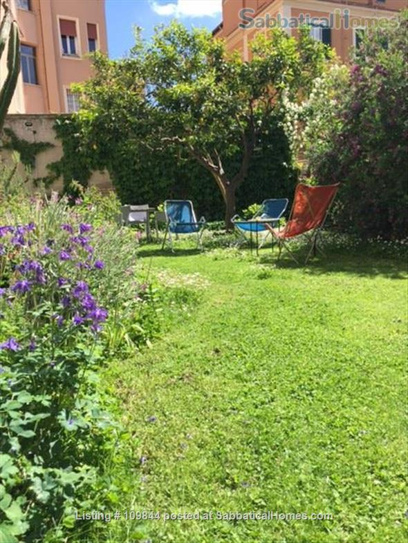 Openspace flat in central area with luxuriant mediterranean garden Home Rental in Rome 7 - thumbnail