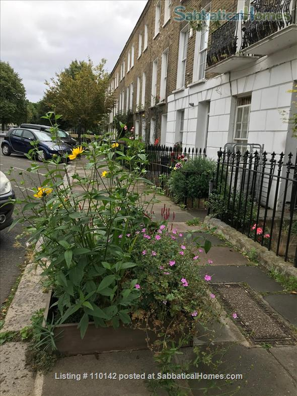 Quiet, light, three-bedroom Victorian flat in Camden, ideal for up to four people Home Rental in Greater London, England, United Kingdom 9