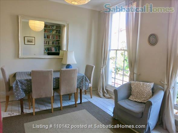 Quiet, light, three-bedroom Victorian flat in Camden, ideal for up to four people Home Rental in Greater London, England, United Kingdom 1