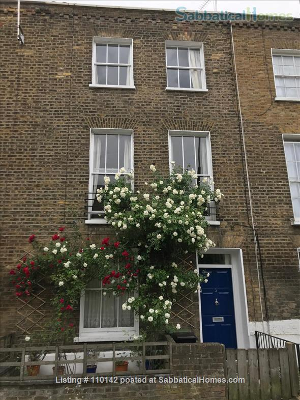 Quiet, light, three-bedroom Victorian flat in Camden, ideal for up to four people Home Rental in Greater London, England, United Kingdom 0