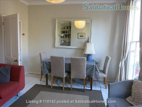 Quiet, light, three-bedroom Victorian flat in Camden, ideal for up to four people Home Rental in Greater London, England, United Kingdom 2