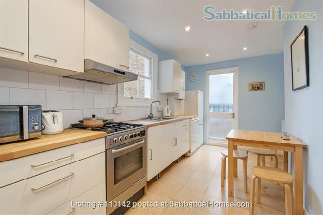 Quiet, light, three-bedroom Victorian flat in Camden, ideal for up to four people Home Rental in Greater London, England, United Kingdom 4