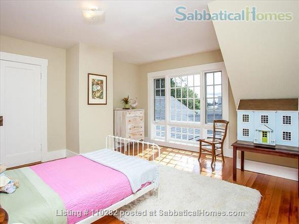 Historic N. Berkeley/Gourmet Ghetto house  -- 4BR, 2.5 bath, 3000 sq ft Home Rental in Berkeley, California, United States 8