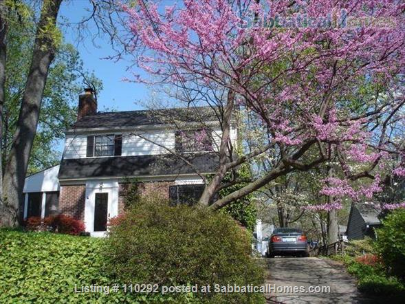 Bethesda Charming 3 Br, 2 Ba. Great Location! Walk to Metro. Furnished. Home Rental in Bethesda, Maryland, United States 1