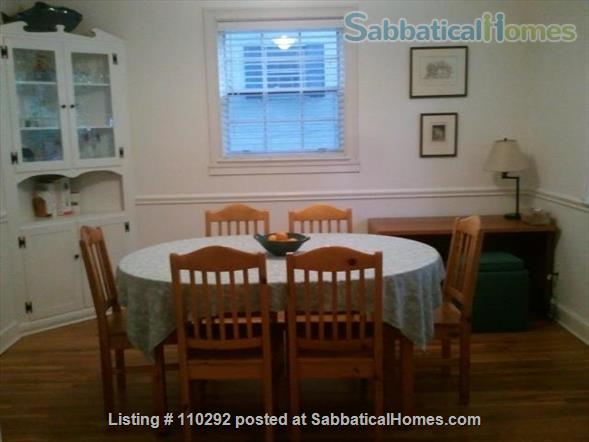 Bethesda Charming 3 Br, 2 Ba. Great Location! Walk to Metro. Furnished. Home Rental in Bethesda, Maryland, United States 3