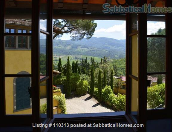 Grand Winemakers Residence close  to Florence, Siena. Chianti Tuscan hills Home Rental in Montefioralle, Toscana, Italy 9