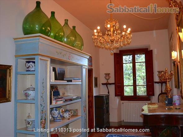 Grand Winemakers Residence close  to Florence, Siena. Chianti Tuscan hills Home Rental in Montefioralle, Toscana, Italy 4