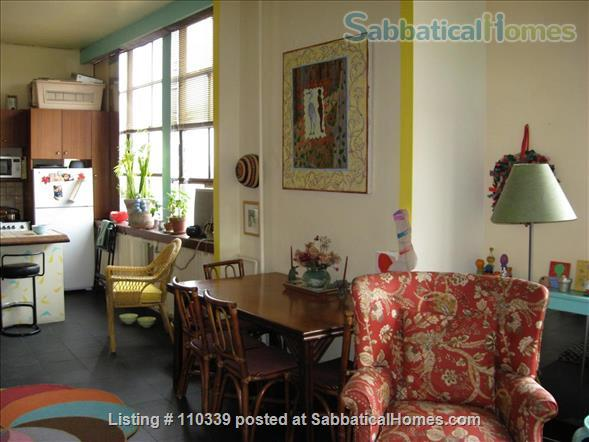 1 bedroom legal sublet in Westbeth Artist Housing Complex Home Rental in New York, New York, United States 1