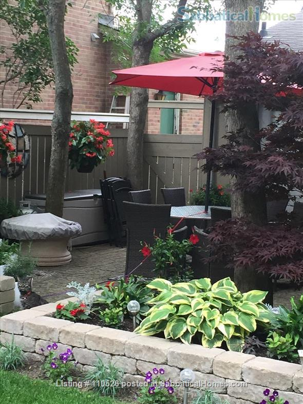 Furnished  West End 3 Bedroom Home for Rent with Private Back Yard Home Rental in Kingston, Ontario, Canada 0