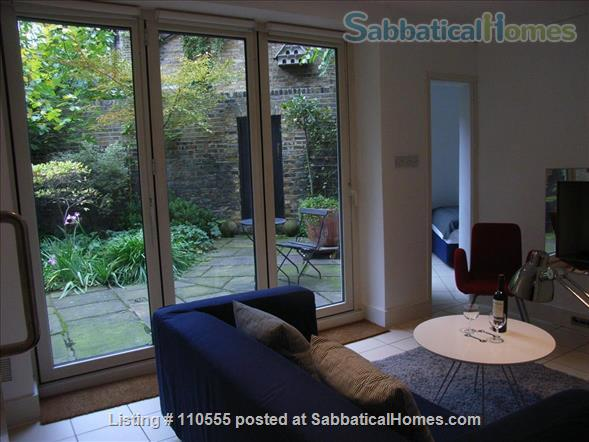 Beautiful 2-bed flat with large garden, Pimlico, SW1V 2LN, Central London Home Rental in Greater London, England, United Kingdom 1
