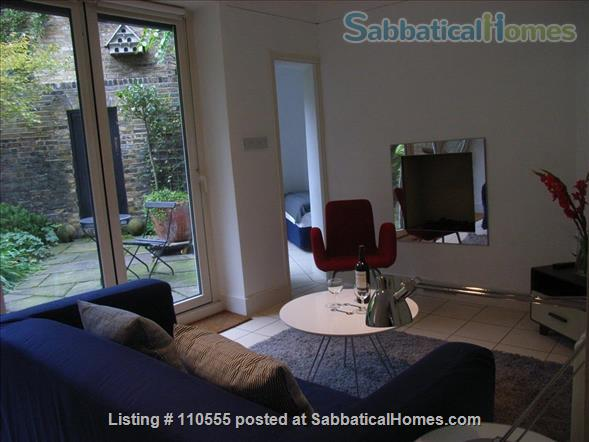 Beautiful 2-bed flat with large garden, Pimlico, SW1V 2LN, Central London Home Rental in Greater London, England, United Kingdom 0