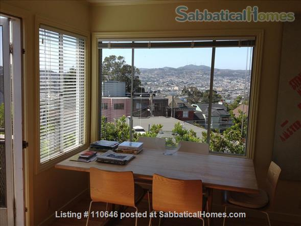 A quiet, leafy retreat high on a San Francisco hill Home Rental in San Francisco, California, United States 4