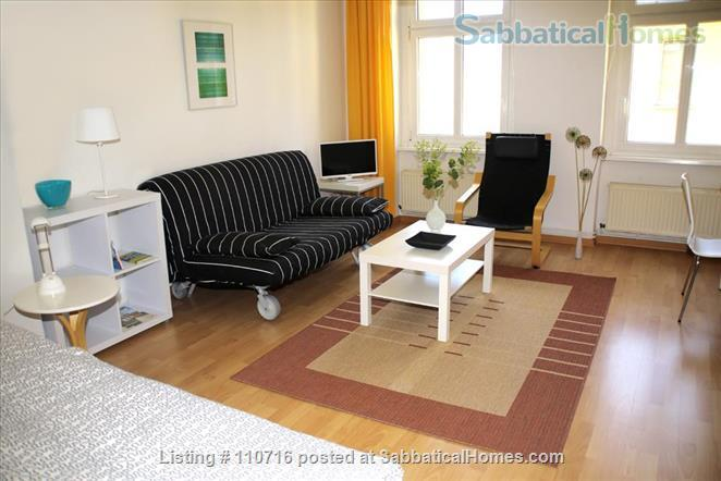 Bright, cosy, spacious 1-room apartment Home Rental in Berlin, Berlin, Germany 1