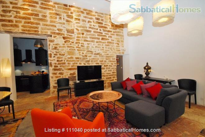 Historic Loft Conversion Home Rental in Montpellier, Occitanie, France 5