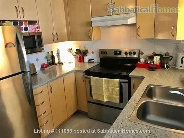 Beautiful Kitsilano apartment. Pet friendly. Great location near the beach, mountain views Home Exchange in Vancouver, British Columbia, Canada 2