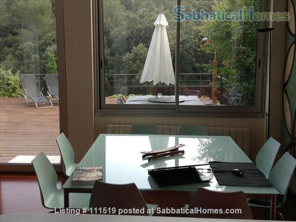 Design house within 20 minutes - or less - to five Univeristy Campus Home Rental in Sant Cugat del Vallès, CT, Spain 4