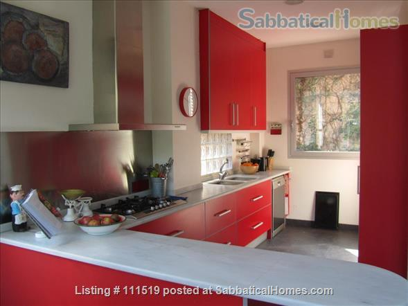 Design house within 20 minutes - or less - to five Univeristy Campus Home Rental in Sant Cugat del Vallès, CT, Spain 5