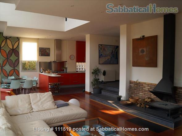 Design house within 20 minutes - or less - to five Univeristy Campus Home Rental in Sant Cugat del Vallès, CT, Spain 7